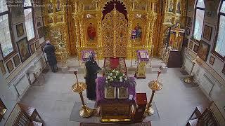 Литургии в Неделю 1-ю Великого поста. Торжество Православия (видеокамера №1)