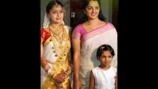 manju warrier dileep and dughter with stars.