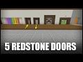 5 Redstone Doors to Build in Minecraft!.mp3
