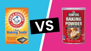 Baking Soda vs  Baking Powder: What's the Difference