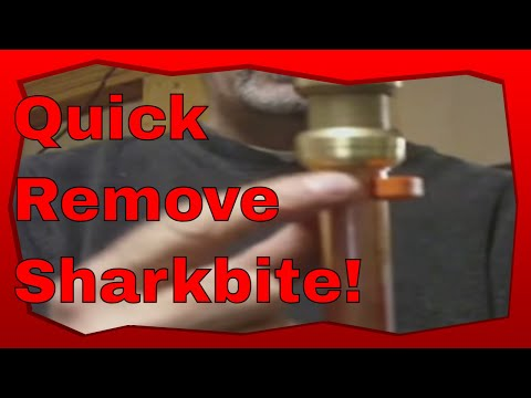 how to fix a leaking sharkbite fitting