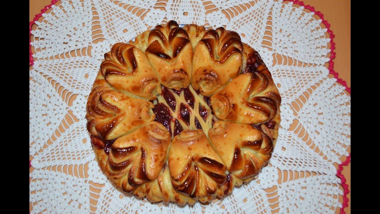 Домашние пироги с вареньемы
