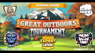 Golf Clash - Great Outdoors - Expert Opening Round