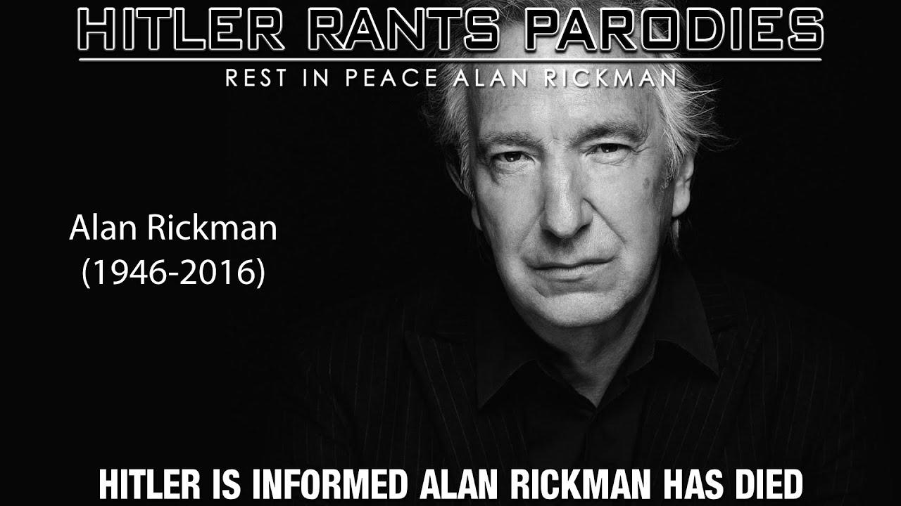 Hitler is informed Alan Rickman has died
