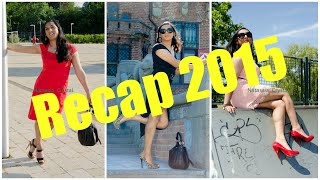 Crossdresser - recap of 2015 - lots of fashion and high heels | NatCrys