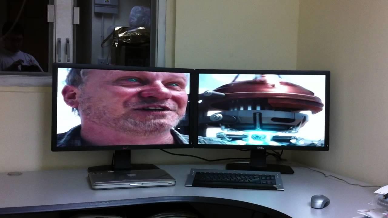 Dual Monitor Dell U2713hm 27 Quot Led Youtube