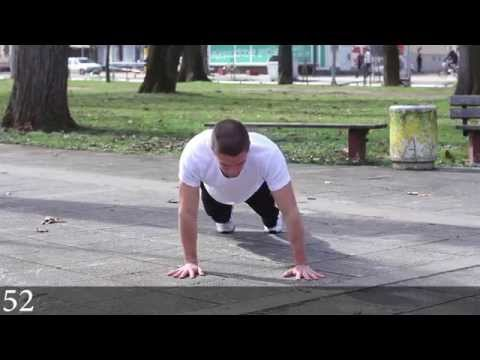 Push ups 60 variations - Bar Legion - Pavle Djurdjevic