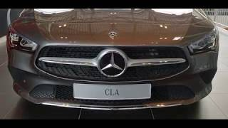 New Mercedes CLA Coupe 2019 Exterior and interior Walkaround