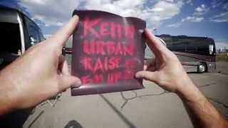 Keith Urban Video - Raise 'Em Up Tour - FAITHFULLY!!