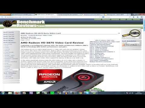 AMD Radeon HD 6870 Review With Benchmarks