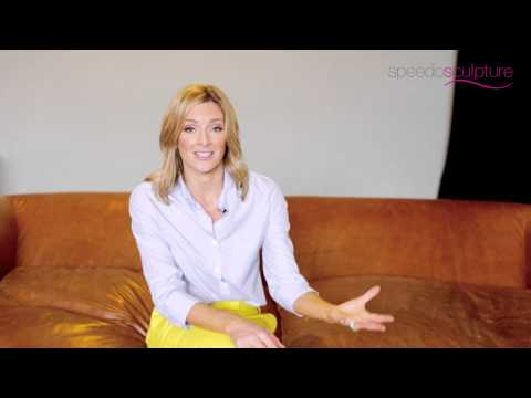 Gabby Logan talks Speedo Sculpture