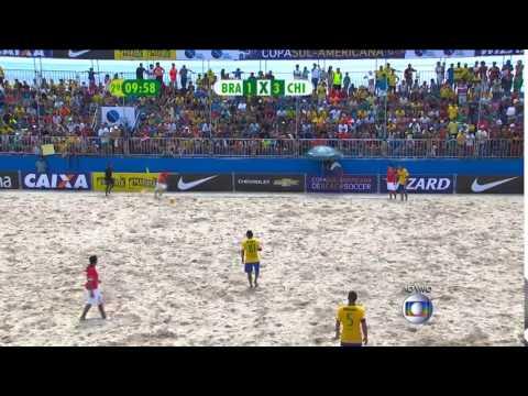 Gols - Brasil 7 x 4 Chile - Sul-Americano de Beach Soccer 2015 - 01/02/2015