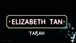 Elizabeth Tan - Tabah (Ost Dia Bidadariku) (Lirik)