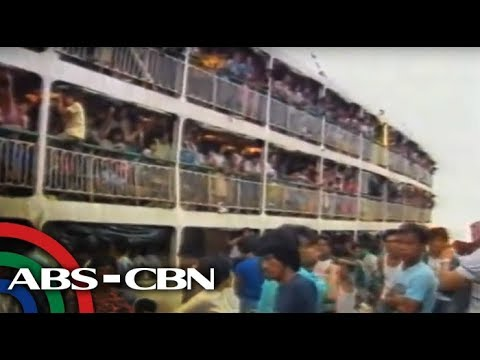 MV Doña Paz disaster sa 1987 ABS-CBN yearender