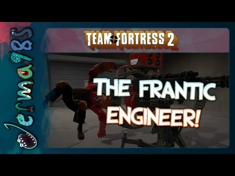 TF2: The Frantic Engineer - Pick Up Them Sentries! [Badwater Commentary]