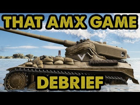 WoT / THAT AMX GAME - DEBRIEF / Xbox One X