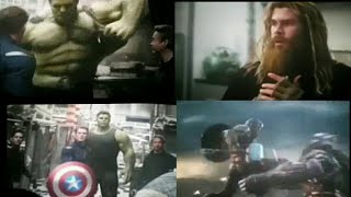 Avengers Endgame | Leaks Video | Scene Hulk action