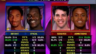 NBA Showtime NBA On NBC - ARCADE - (Los Angeles Lakers) MAME 0.209 emulator