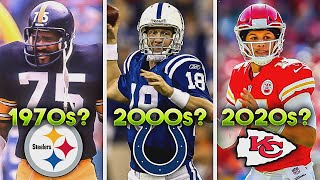 Who Is The GREATEST NFL Player From Each Decade? (1920s to 2020s)