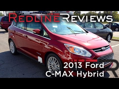 2013 Ford C-MAX Hybrid Review. Walkaround. Exhaust. Test Drive