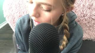 ASMR Mouth Sounds (inaudible whispers, kisses, etc)