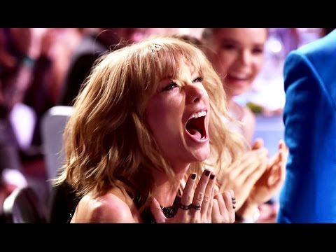 Taylor Swift Freaks Out At IHeartRadio Music Awards