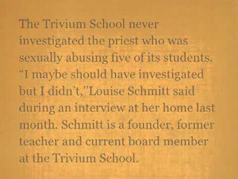 TRIVIUM SCHOOL never investigated abusing Priest - 02/12/2013