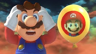 Super Mario Odyssey - Top 5 Hiding Spots for Luigi's Balloon World