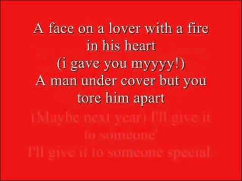 Wham - last christmas lyrics FULL VERSION! - YouTube
