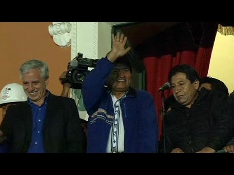 Morales claims victory in Bolivia's presidential election