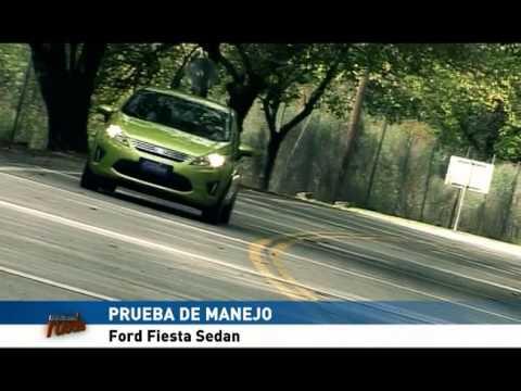 Prueba de manejo - Ford Fiesta Kinetic Design
