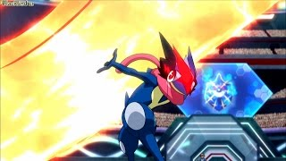 Pokemon XY&Z Ash Greninja Evolution/League Hype