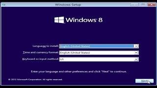 Windows 8 Installation and Configuration