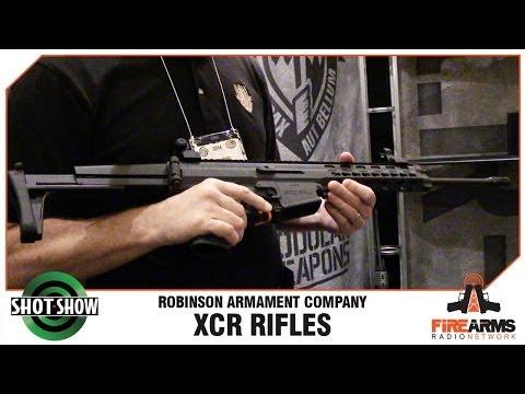 Robinson Arms XCR - SHOT Show 2014