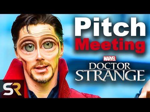 Doctor Strange Pitch Meeting