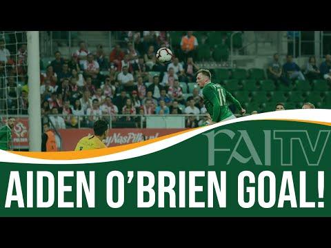 Poland 1-1 Ireland | Aiden O'Brien Goal