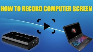 How to record your computer screen with Elgato HD!!!! 2016