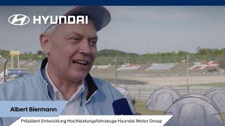 Hyundai @ 24h Rennen - Interview Albert Biermann   Was macht den i30N besonders?