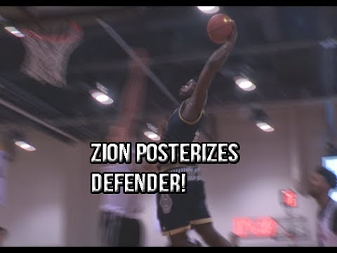 Zion Williamson POSTERIZES Defender At 8am! Full Highlights Against Jordan Brown!
