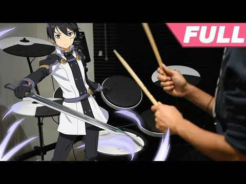 Sword Art Online Movie: Ordinal Scale ED Full -【Catch The Moment】by LiSA - Drum Cover