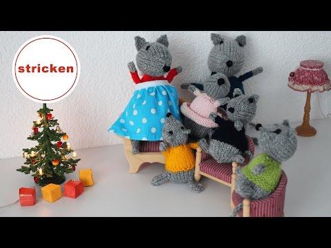 Maus stricken | DIY | mit Anleitung