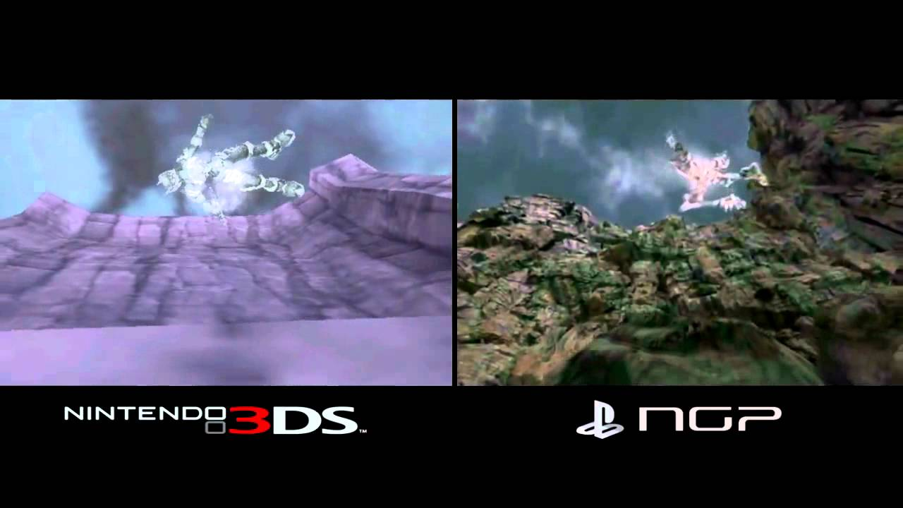 3DS vs PS VITA - Graphics Comparison - YouTube
