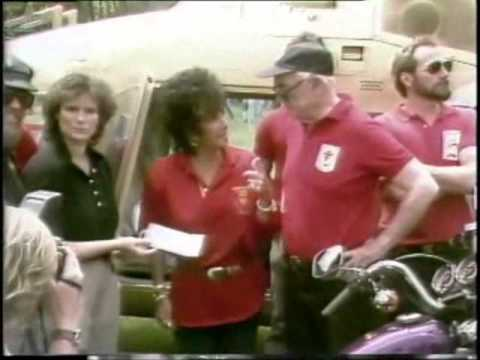 Elizabeth Taylor and Malcolm Forbes: MDA Ride for Life 1988