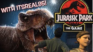 """FUNNY """"JURASSIC PARK, THE TELLTALE GAME"""" ( SAVAGE EDITION ???)"""