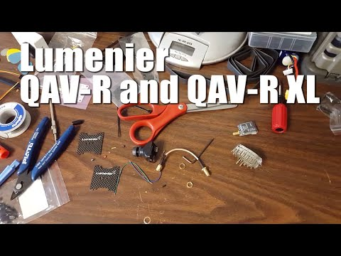 Lumenier QAV-R and QAV-R XL Frame Review