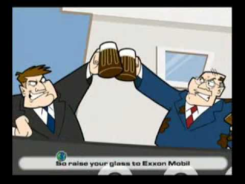 Toast the Earth with Exxon Mobil