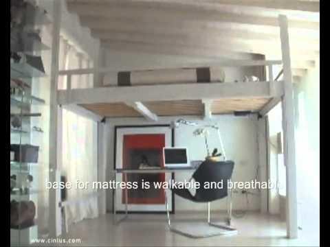 Loft Bed Living Room Design Ideas Youtube