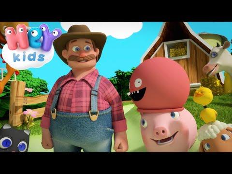 Фермер Макдональд - Животные Для Детей - Песни Для Детей