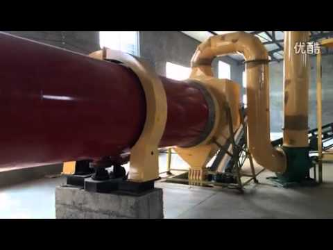 Big rotary dyer for biomass or mining
