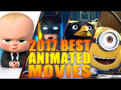 Best 2017 Animated Movies   Trailer Compilation